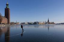 Skating in Stockholm